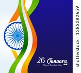 india republic day. 26 january... | Shutterstock .eps vector #1283282659