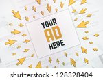 success internet banner... | Shutterstock . vector #128328404