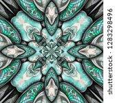 3d render of plastic background ...   Shutterstock . vector #1283298496