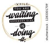 inspirational quote  motivation....   Shutterstock .eps vector #1283301709