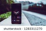 jakarta  indonesia   january 14 ... | Shutterstock . vector #1283311270