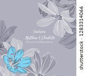 beautiful frame invitation to a ... | Shutterstock .eps vector #1283314066