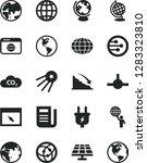 solid black vector icon set  ... | Shutterstock .eps vector #1283323810