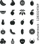 solid black vector icon set   a ... | Shutterstock .eps vector #1283324569