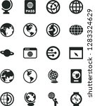 solid black vector icon set  ... | Shutterstock .eps vector #1283324629