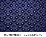 dark blue vector texture with... | Shutterstock .eps vector #1283334340