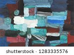 bright multi colored painting ... | Shutterstock . vector #1283335576