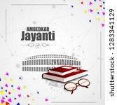 vector illustration of indian... | Shutterstock .eps vector #1283341129