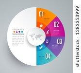 infographics design vector and... | Shutterstock .eps vector #1283353999