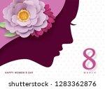 happy women's day | Shutterstock .eps vector #1283362876
