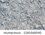 crushed rock different shapes... | Shutterstock . vector #1283368540