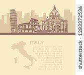 a vector illustration of... | Shutterstock .eps vector #1283372536