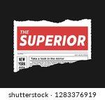 illustration on torn paper... | Shutterstock .eps vector #1283376919