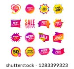 sale banner templates design.... | Shutterstock .eps vector #1283399323