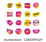 sale banner templates design.... | Shutterstock .eps vector #1283399329