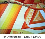 abstract texture. oil  acrylic... | Shutterstock . vector #1283412409