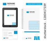 credit card business logo  tab... | Shutterstock .eps vector #1283417239