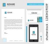 checklist business letterhead ... | Shutterstock .eps vector #1283419039