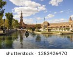 "the plaza de espa a  ""spain... | Shutterstock . vector #1283426470"
