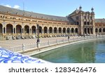 "the plaza de espa a  ""spain... | Shutterstock . vector #1283426476"