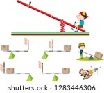 physics course  subject of... | Shutterstock .eps vector #1283446306