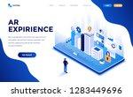 modern flat design isometric... | Shutterstock .eps vector #1283449696