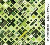 seamless vector pattern.... | Shutterstock .eps vector #1283459920