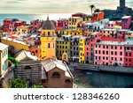 View Of Vernazza. Vernazza Is ...