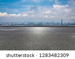 panoramic skyline and modern...   Shutterstock . vector #1283482309