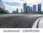 panoramic skyline and modern... | Shutterstock . vector #1283492560