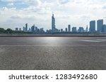 panoramic skyline and modern... | Shutterstock . vector #1283492680