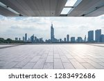 panoramic skyline and modern... | Shutterstock . vector #1283492686