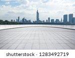 panoramic skyline and modern... | Shutterstock . vector #1283492719