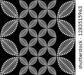 seamless black and white... | Shutterstock .eps vector #1283515963