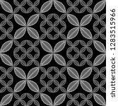seamless black and white...   Shutterstock .eps vector #1283515966