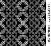 seamless black and white... | Shutterstock .eps vector #1283515969