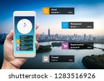 navigation information... | Shutterstock . vector #1283516926