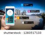 navigation information... | Shutterstock . vector #1283517133