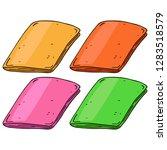 journal  notebook  book hand... | Shutterstock .eps vector #1283518579