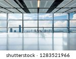panoramic skyline and buildings ...   Shutterstock . vector #1283521966