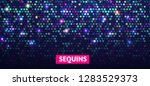 shining sequins abstract... | Shutterstock .eps vector #1283529373
