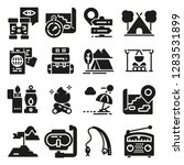 set of icons and symbols for... | Shutterstock .eps vector #1283531899