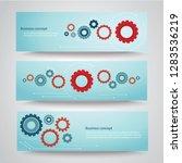 gears background cog wheel... | Shutterstock .eps vector #1283536219