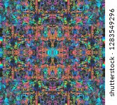 abstract grunge style digital...   Shutterstock . vector #1283549296