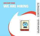 join our team. busienss company ... | Shutterstock .eps vector #1283559673