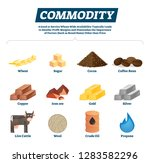 commodity vector illustration.... | Shutterstock .eps vector #1283582296