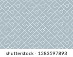 abstract geometric pattern. a... | Shutterstock .eps vector #1283597893