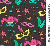 seamless pattern with...   Shutterstock .eps vector #1283602660
