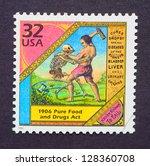 united states        circa 1998 ... | Shutterstock . vector #128360708
