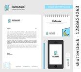 halloween card  business... | Shutterstock .eps vector #1283624263